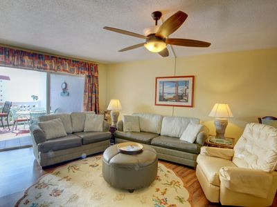 Photo for Gulf Front Condo w/Private Balcony, Pool, Whirlpool, Beach Access, & More!