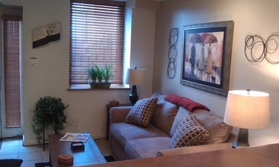 Photo for Downtown Studio - charming & cozy w/ patio & on-site free parking.....