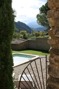 Photo for Charming stone house in Drôme Provençale with swimming pool