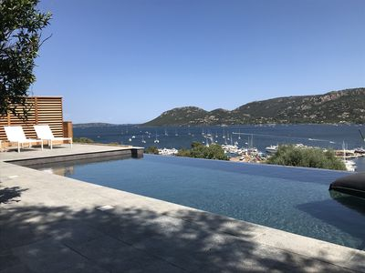 Photo for VILLA 8 PERS COEUR CITY SWIMMING POOL VIEW IMPRENABLE PORTO VECCHIO