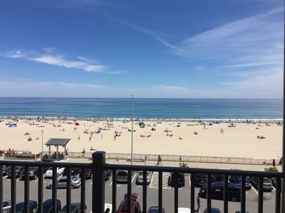 Photo for Ocean front Penthouse with Beautiful Ocean View, Beach, Large Deck
