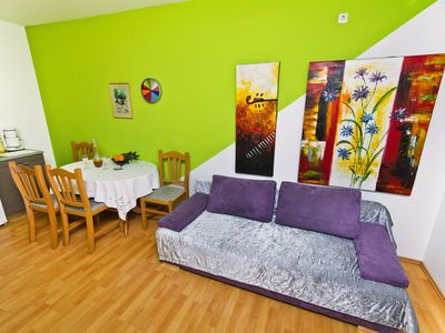Photo for 1 bedroom apartment with terrace