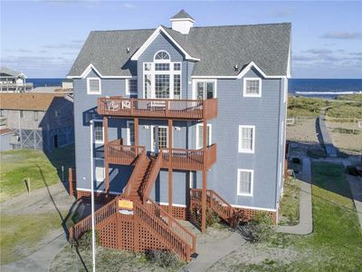 Photo for Oceanfront Rodanthe Hideaway-Steps to Beach, Pool, Hot Tub, GameRm, Dog-Friendly