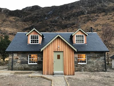 Photo for Old Cottage, Lochhournhead, Kinloch Hourn