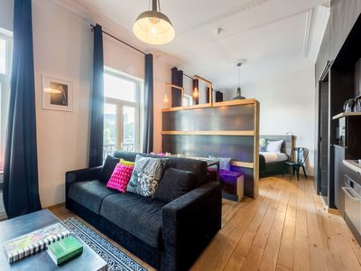 Photo for Sablon 101 apartment in Brussels Centre with WiFi.