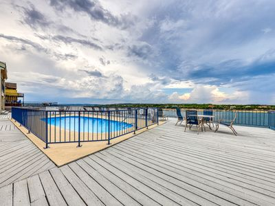 Photo for Lakefront condo w/ a shared pool, hot tub, & boat slip!