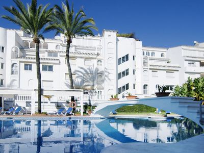 Photo for 2 bedroom Apartment, sleeps 5 in Marbella with Pool, Air Con and WiFi
