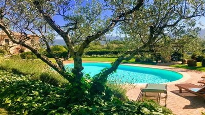 Photo for SPOLETO TRANQUILITA + POOL. SLEEPS 20.  WIFI. EXTENSIVE PRIVATE GROUNDS