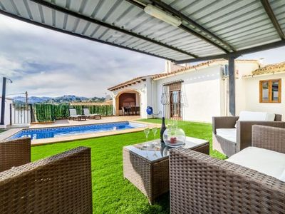 Photo for 3BR Country House / Chateau Vacation Rental in Teulada, Comunidad Valenciana