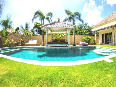 Photo for ❤$100❤️7 minutes BEACH❤️12M POOL❤️SEMINYAK | 3BR |  | WIFI | STAFF | SUNDECK