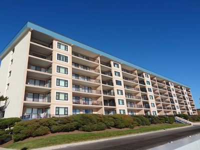 Photo for Ocean Hideaway 508-Oceanfront 18th St, Elev, W/D, AC