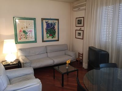 Photo for completely renovated three-room apartment with air conditioning and all the amenities