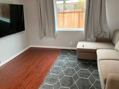 Photo for Bright Newly remodeled airbnb next to sfo!
