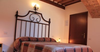 Photo for Country stay in Siena: a real, unique medieval experience in apartment for 2