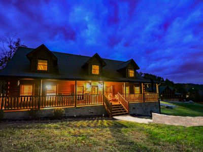 Photo for S'Mores Lodge SUMMER DEAL 10% OFF 5/27-7/1-Pool Table/Foosball/Arcade/Theater/Hottub/sauna/WiFi