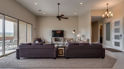 Photo for New 5 bedroom-Private Spa and Fire pit in the backyard! Located at Sand Hollow.