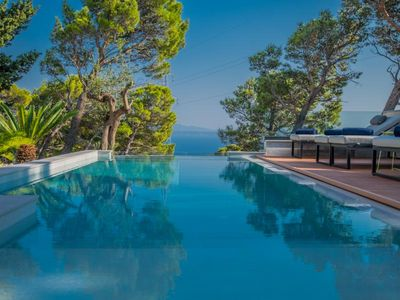 Photo for ctma 236- NEW !!! Modern villa with pool and whirlpool, sleeps 6 + 2, stunning views
