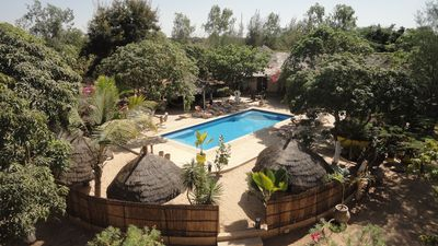 Photo for LODGE of 300 m² with swimming pool and 5 suites on a 2 hectare domain