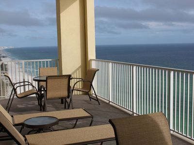 Photo for 4BR-3BA Penthouse Corner Unit on the Beach!  Near Pier Park!