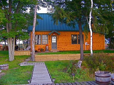 7.5 Acre PRIVATE ISLAND with boat.  Near downtown Traverse City