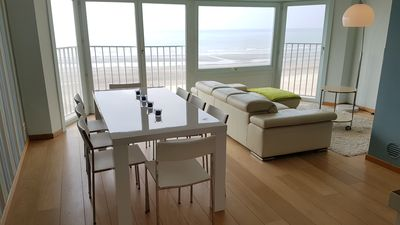 Photo for Coxyde: Very modern apartment with view to the sea