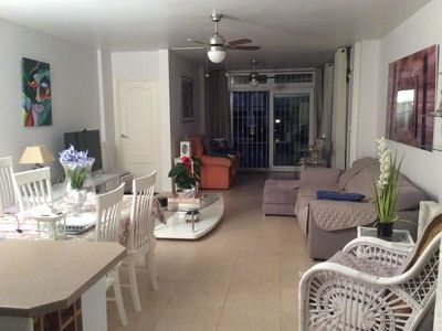 Photo for South facing duplex apartment in Orihuela Costa Cabo Roig by the sea.