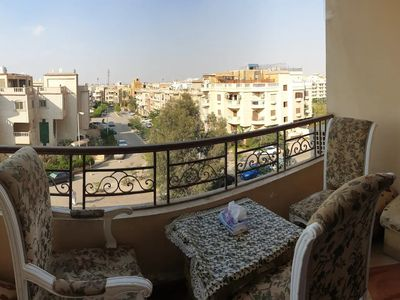 Photo for Quiet Spacious Sunny Apt. in Heart of New Cairo