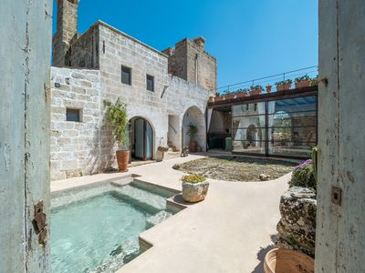Photo for Authentic Apulian farmhouse in the Salento countryside