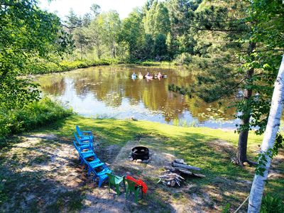 Au Train River waterfront,. Kayaks/Canoe Provided. Clean, quiet, and peaceful