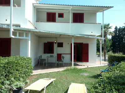 Photo for Apartment in Scalea within a 3 *complex. 10 minutes drive to Scalea beach/town