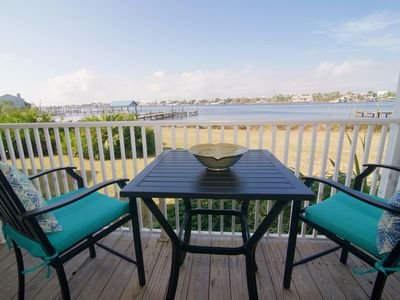 Photo for Amazing 2bed/2bath first floor waterfront condo with fabulous views of Old River