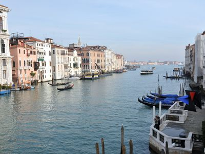 Photo for Breathtaking view on the Grand Canal and Guggenheim's garden