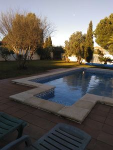 Photo for Spacious4 bedroom 2 bathroom  villa with private pool terrace and seaviews