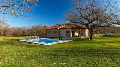 Photo for Gorgeous villa with private pool and large garden