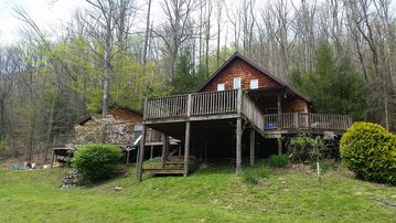 Paradise in the woods overlooking the Buckhannon River