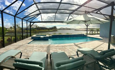 Photo for Waterfront Pool Home in Naples Isles of Collier Preserve