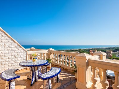 Photo for NEW ***** TOP Penthouse ON THE BEACH, sea view