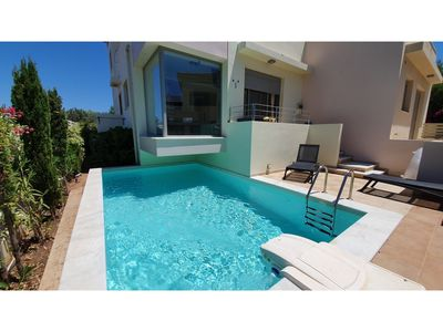 Photo for RVG Jenny Apartment with pool and amazing sea ...