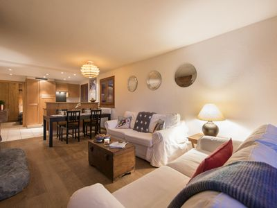 Photo for Verbier apartment near Medran Ski Lift and Place Centrale