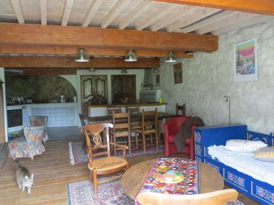 Photo for cottage Barry of Espine in a small village 1200m altitude mountain