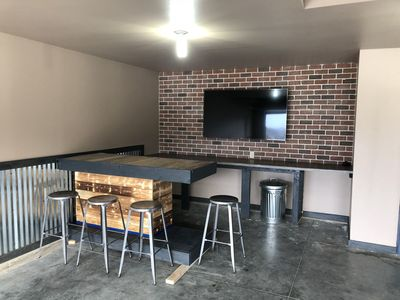 Photo for Bridges Bay Cabin with New Bar and Big Screen in the Garage