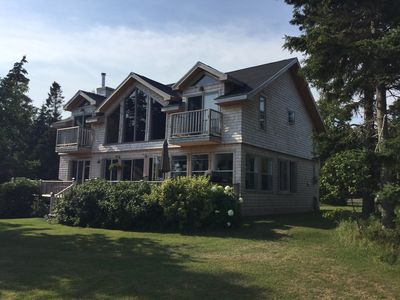 Photo for Large Oceanfront Vacation Home on beautiful Howe Bay, PEI!