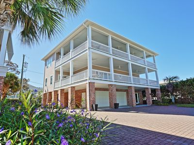Photo for The Ultimate In Beach Living! Ocean View, Steps to Beach,  Sleeps 12,  Elevator!