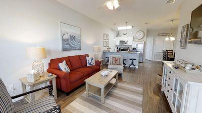 Photo for Coastal Classic! 2 BR-3 Bath Townhome Walking Distance to the Beach!