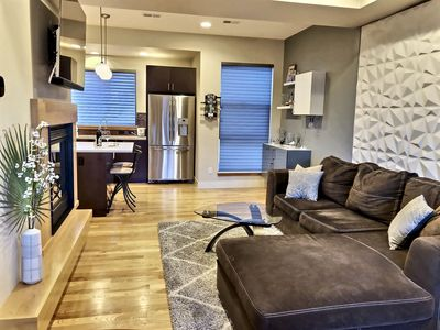 Photo for Modern 4-story LoHi Townhome, Prvt Rftop, walk to Coors Field, Bars/Rest, & DT