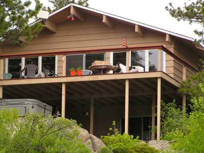 Photo for 3 Br Mountain Home With Spectacular Views of Indian Peaks