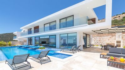 Photo for Blue Angels Quattro brand new villa offering amazing views over Kalkan & Kalamar