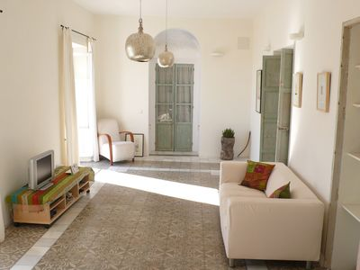 Photo for Elegant Apartment in Vejer Old Town, renovated but with lovely original features