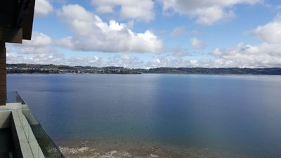 Photo for New, 3bd/2ba Apartment on 10th floor with Awsome views of Lake, beaches & Town.