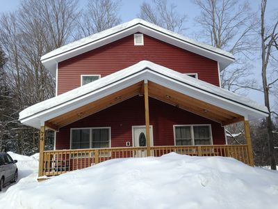 Photo for On the trail map!  Walk to everything! Sleeps 12!